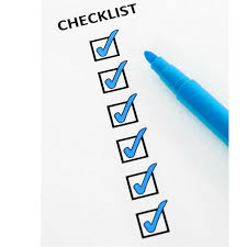 protocol checklist